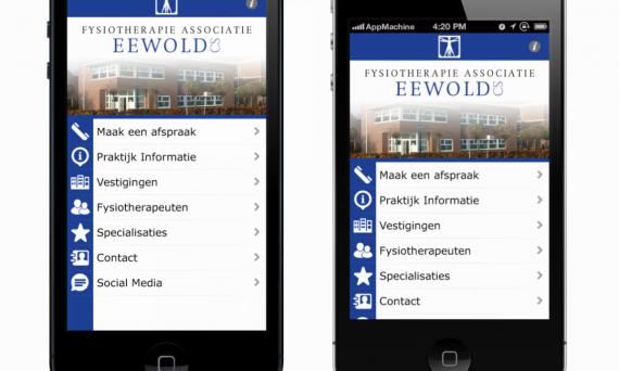 Fysiotherapie Eewold Woerden App praktijk
